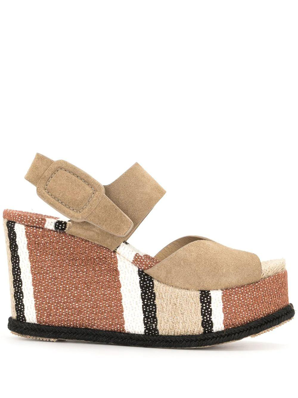 Dian Striped Wedge