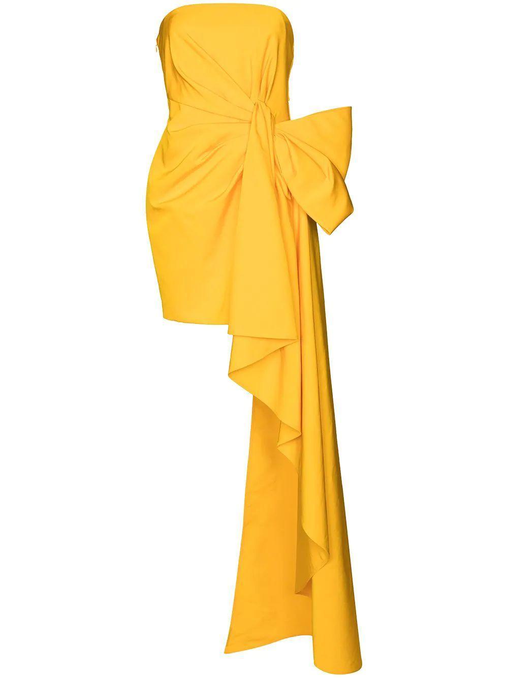 Side Drape Mini Dress