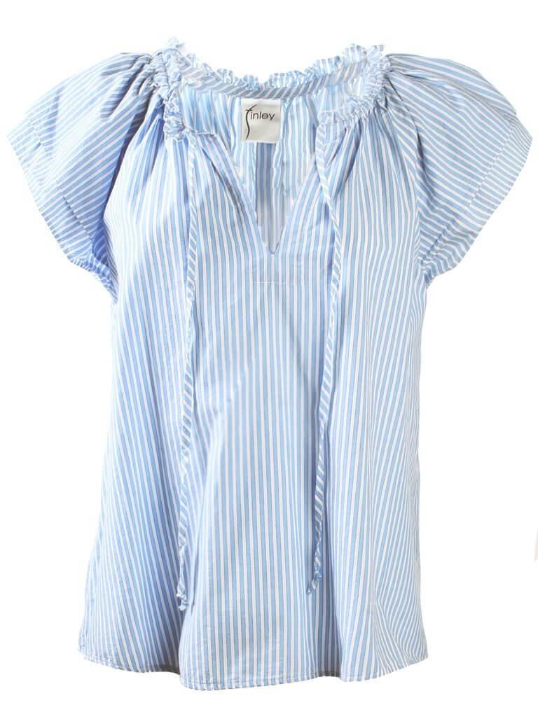Cassie Striped Shirt Item # 3069040S