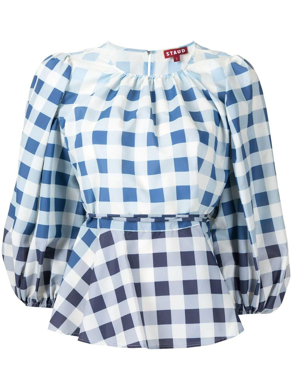 Laurence Gingham Blouse