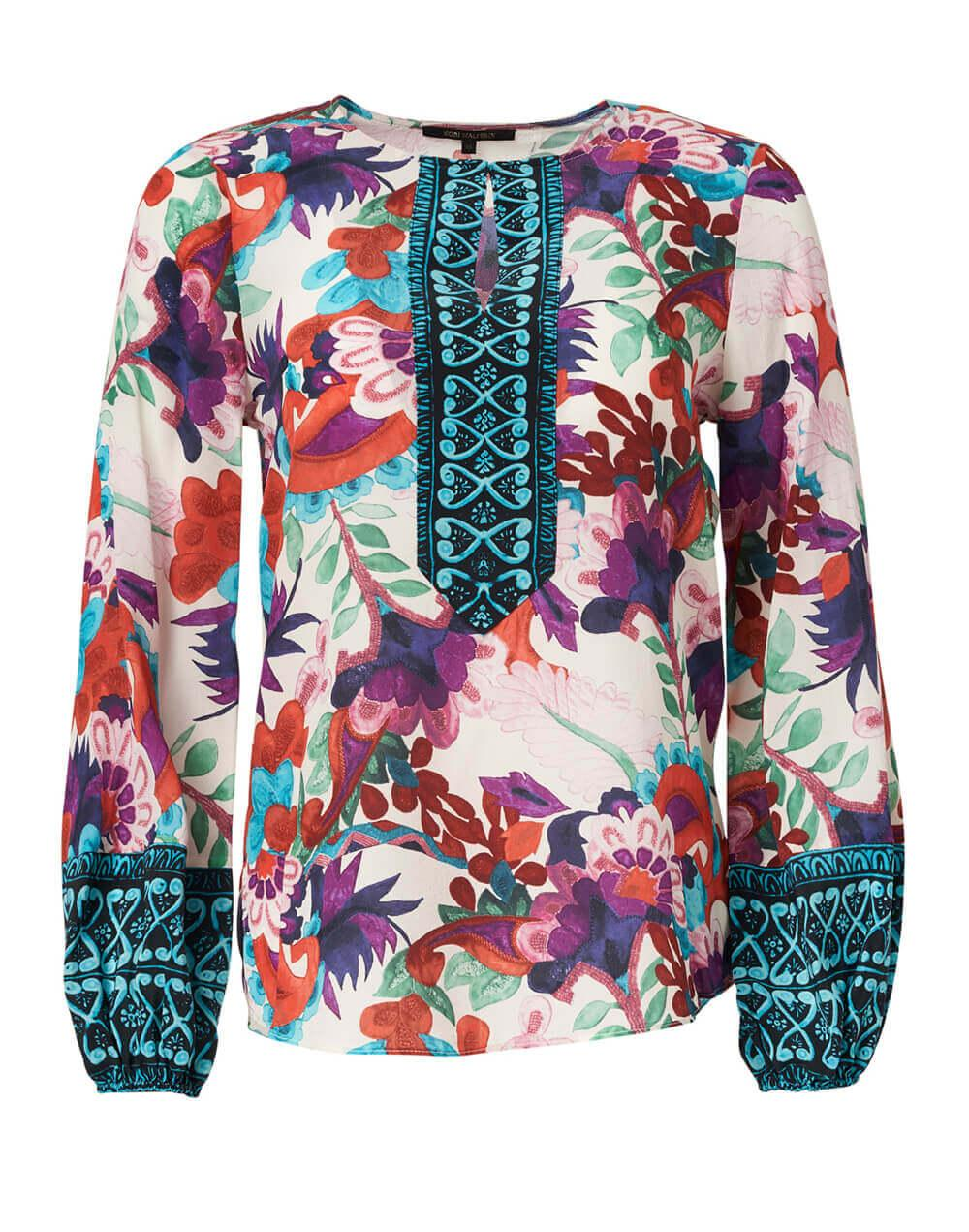Libby Mixed Floral Blouse