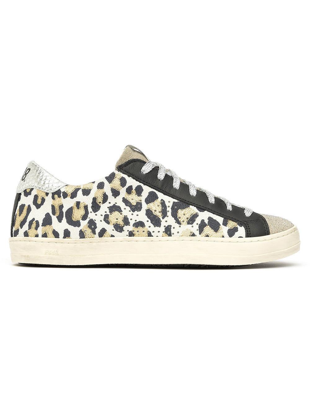 John Leopard Sneaker Item # S21JOHN-W