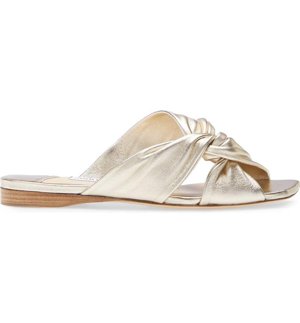 Narisa Twist Slide Sandal Item # NARISAFLAT