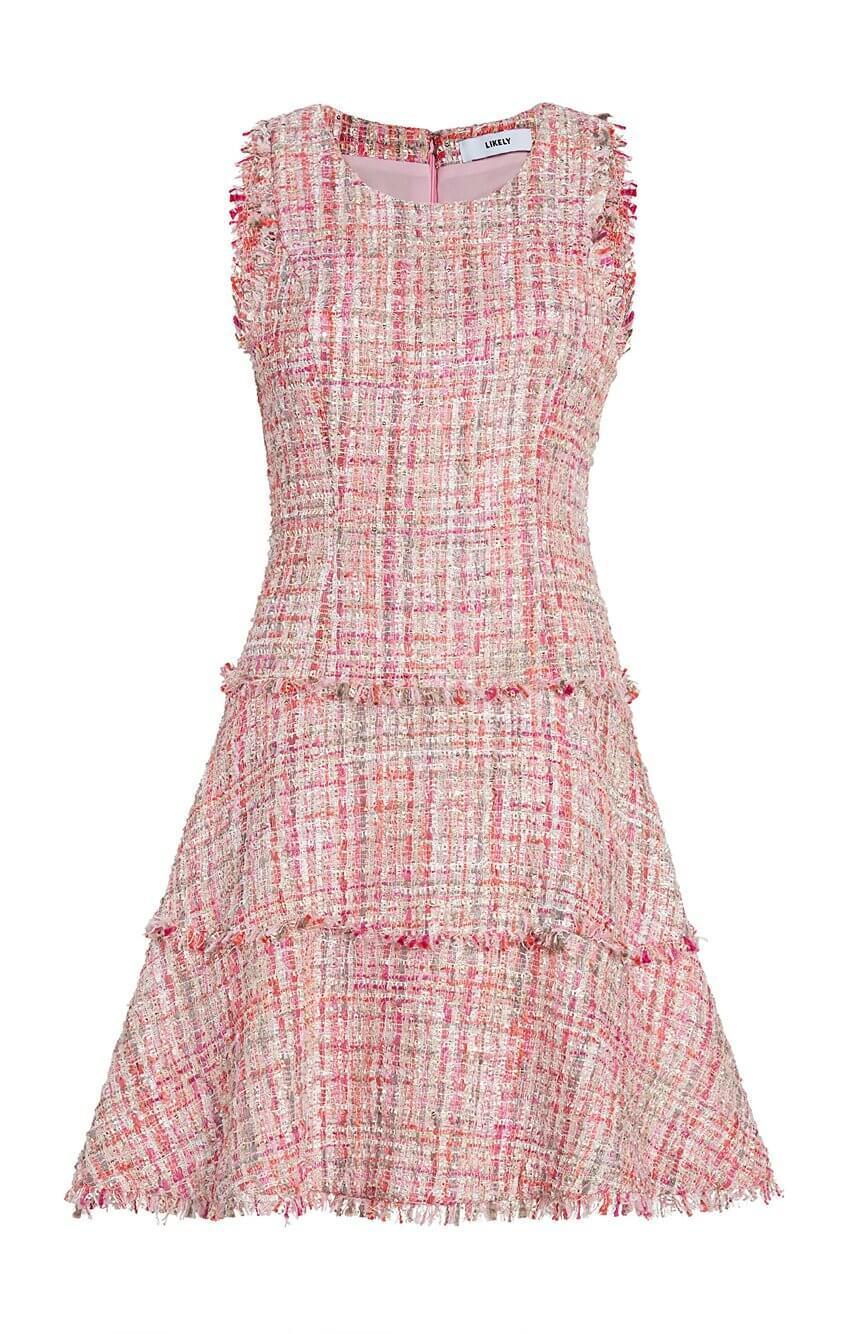 Tweed Jewel Dress