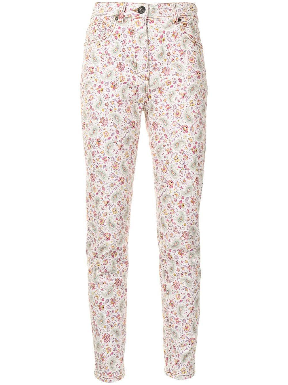 Small Paisley Skinny Jean Item # 211D144539455