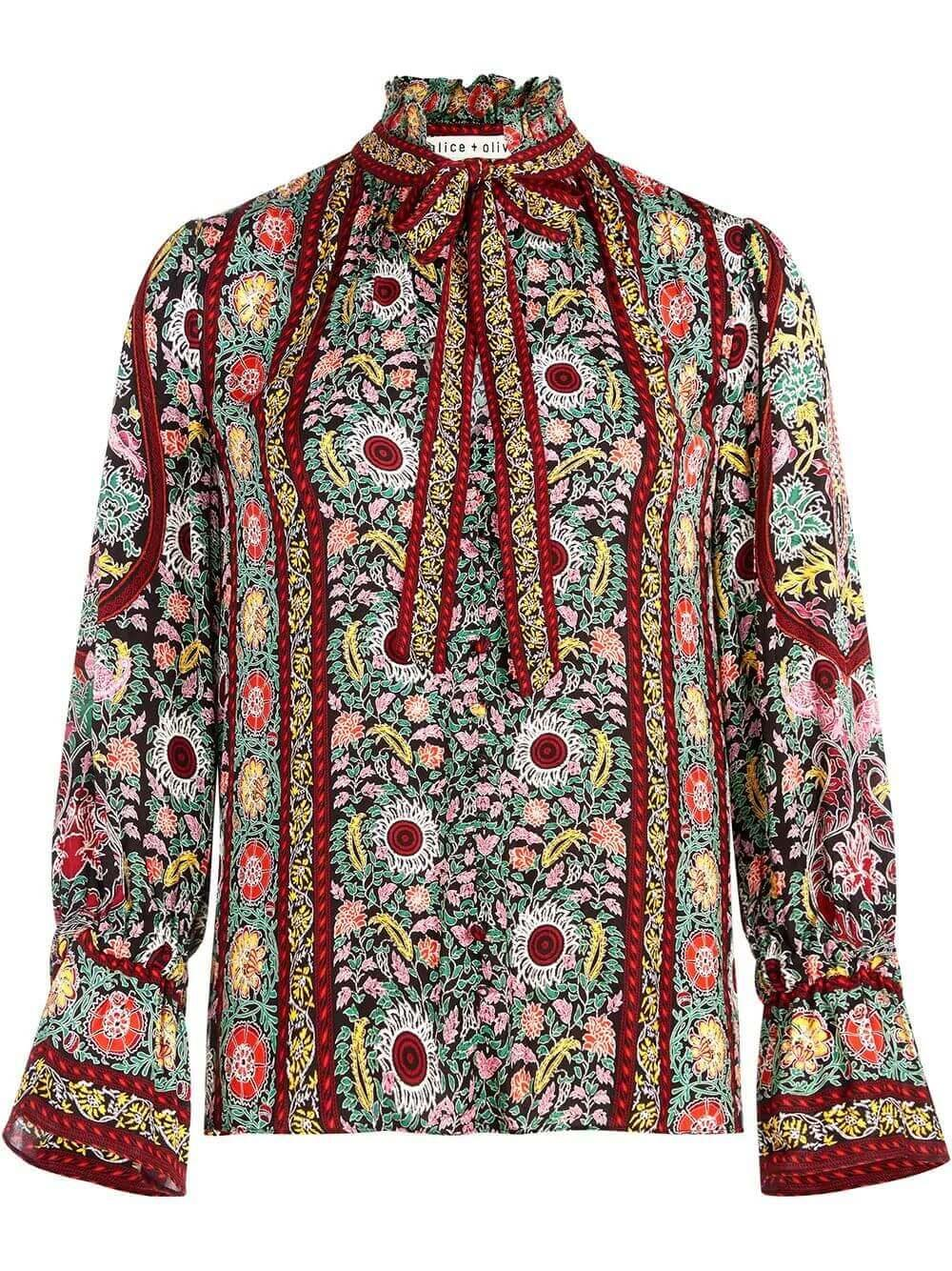 Reilly Floral Printed Blouse