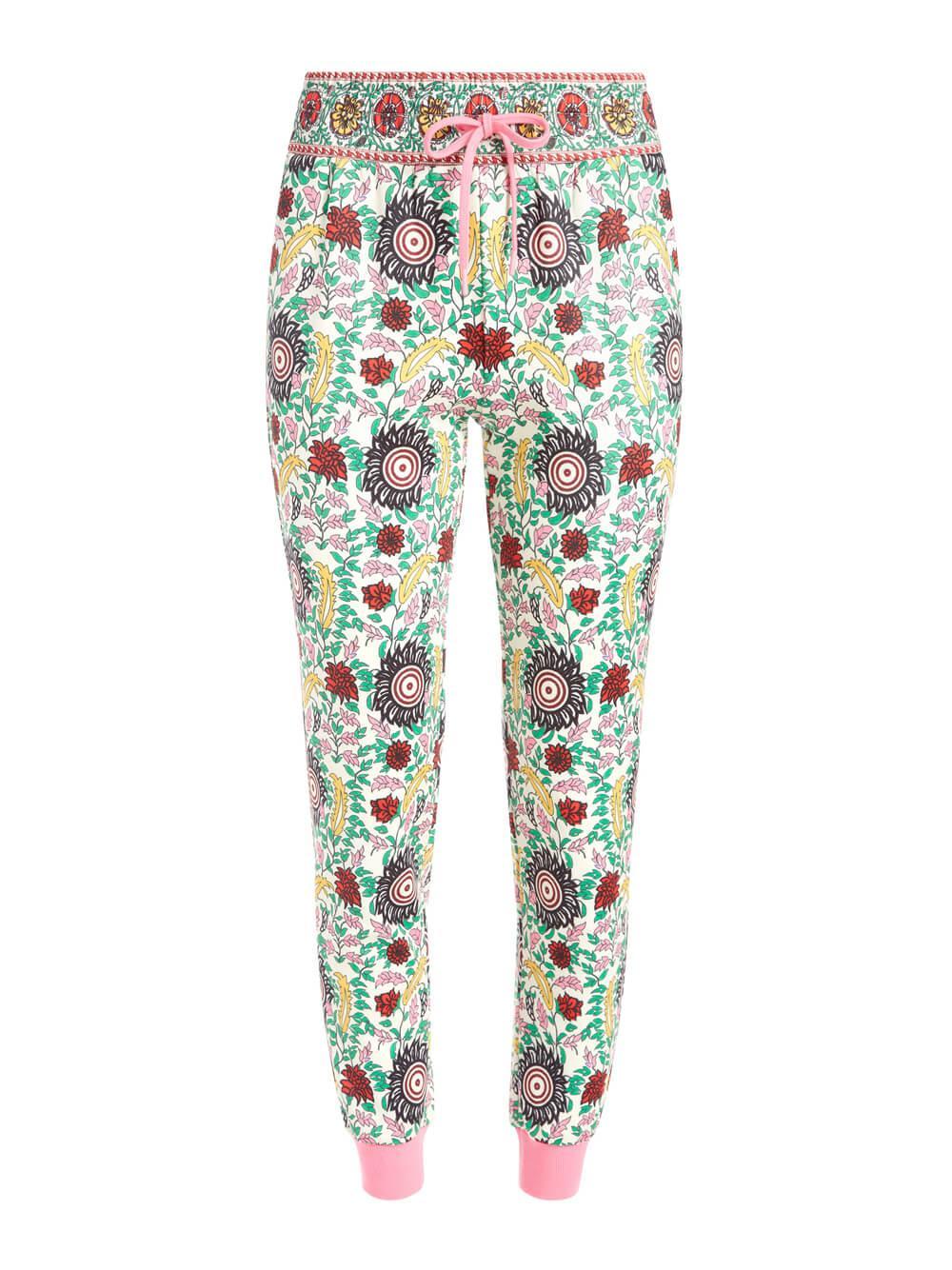 Nyc Slim Floral Jogger Item # CC102P58101