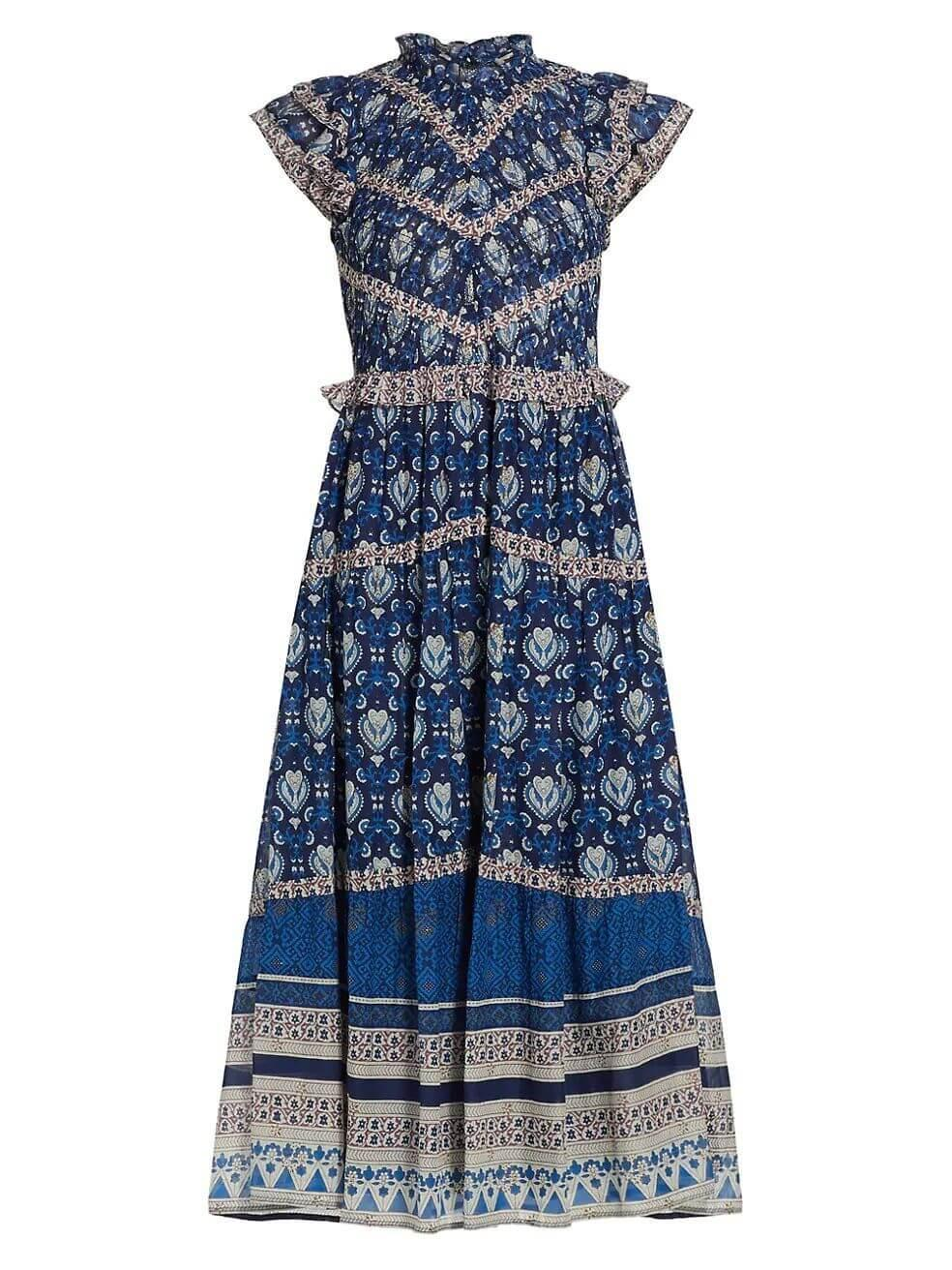 Brigitte Midi Dress