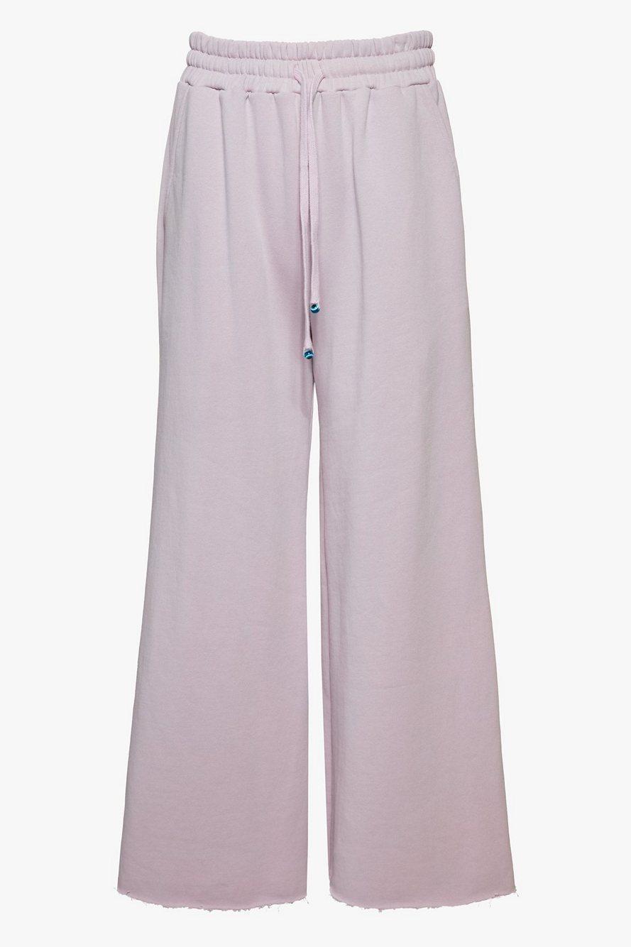 Wide Leg Cropped Sweatpants