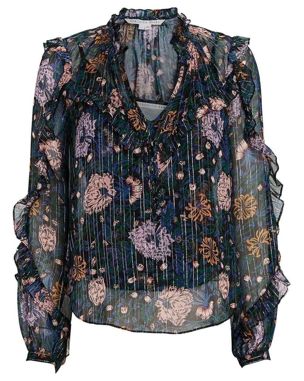 Abra Floral Blouse Item # 2012CHF0104977