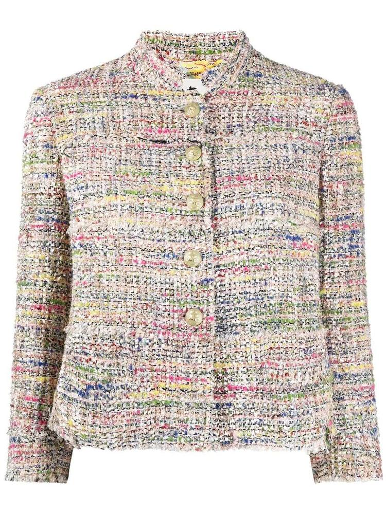 Multi Colored Tweed Jacket Item # 211D140391498