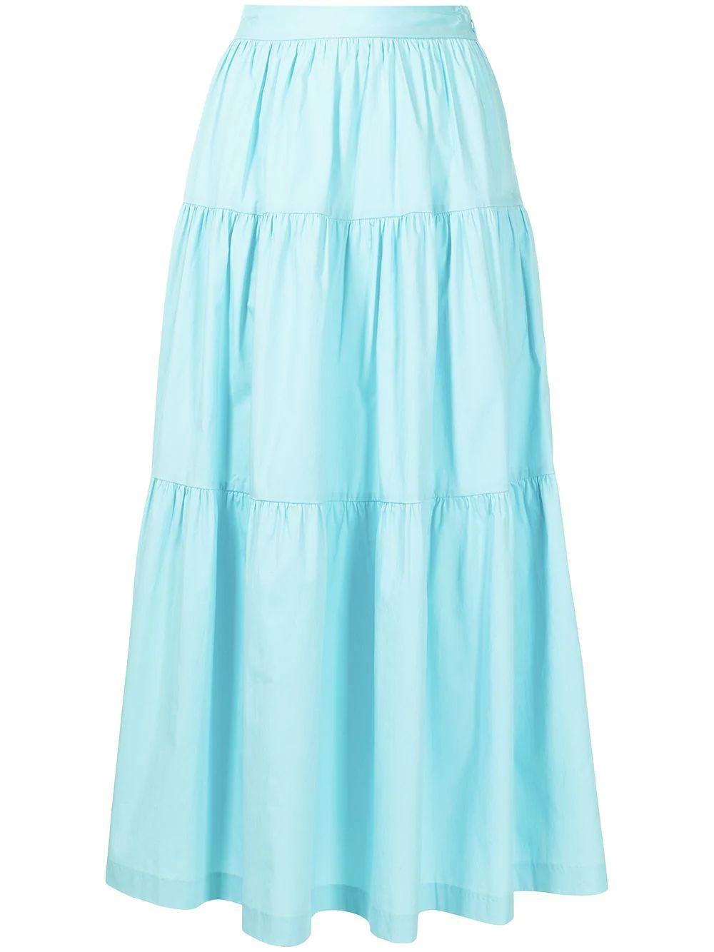 Sea Maxi Skirt