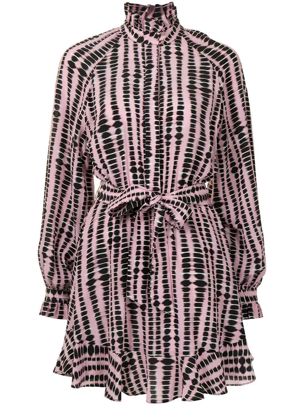 Samir Belted Mini Dress