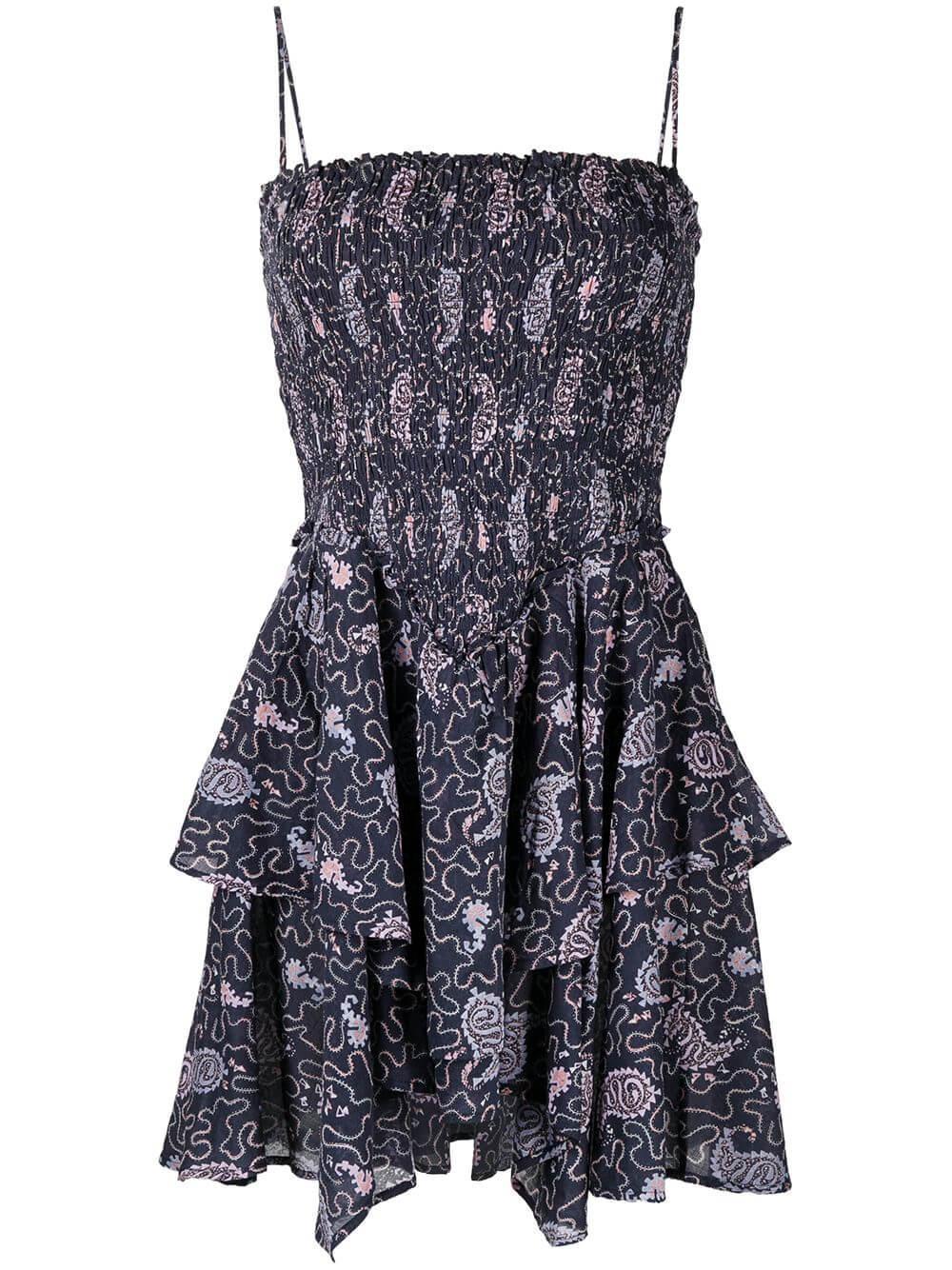 Anka Printed Dress
