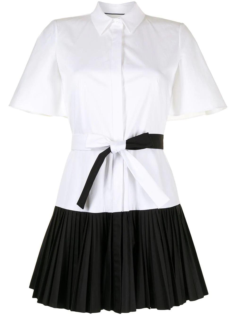 Felipa Pleated Mini Dress