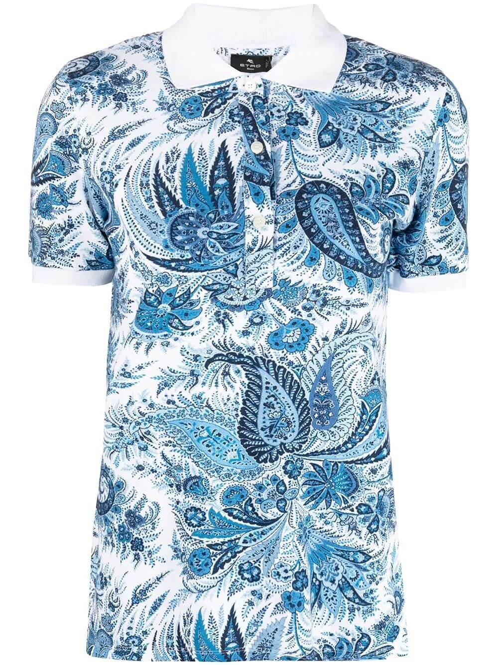 Paisley Collared Shirt Item # 211D145129463