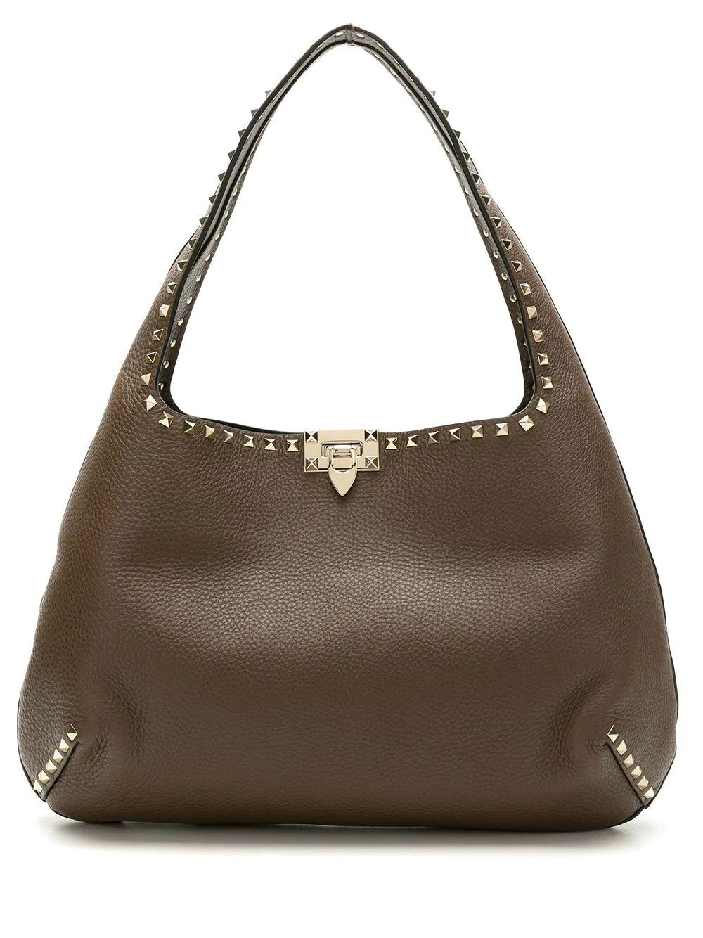 Rockstud Hobo Shoulder Bag