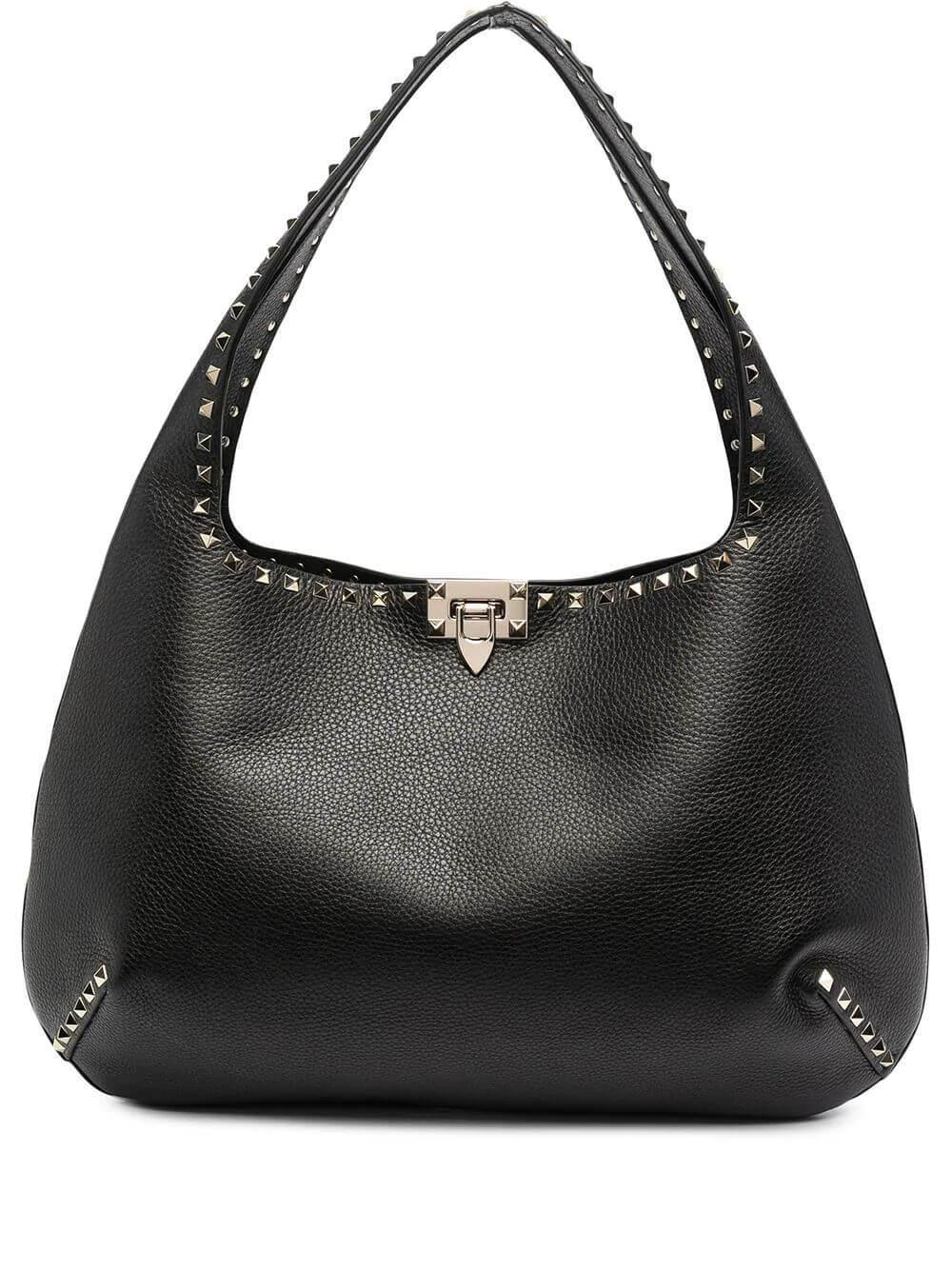 Rockstud Hobo Shoulder Bag Item # VW2B0I24VSF