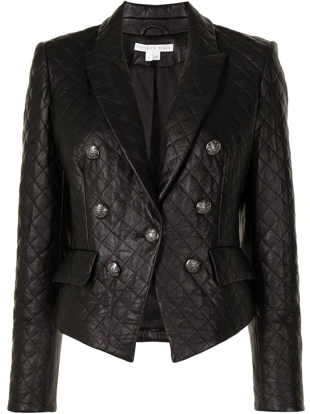 Quilted Cooke Dickey Blazer