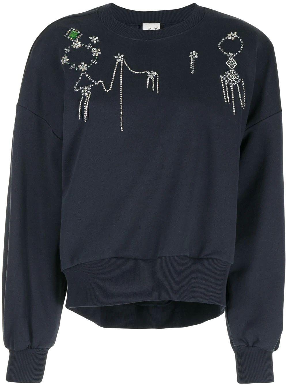 Blaire Embellished Sweatshirt