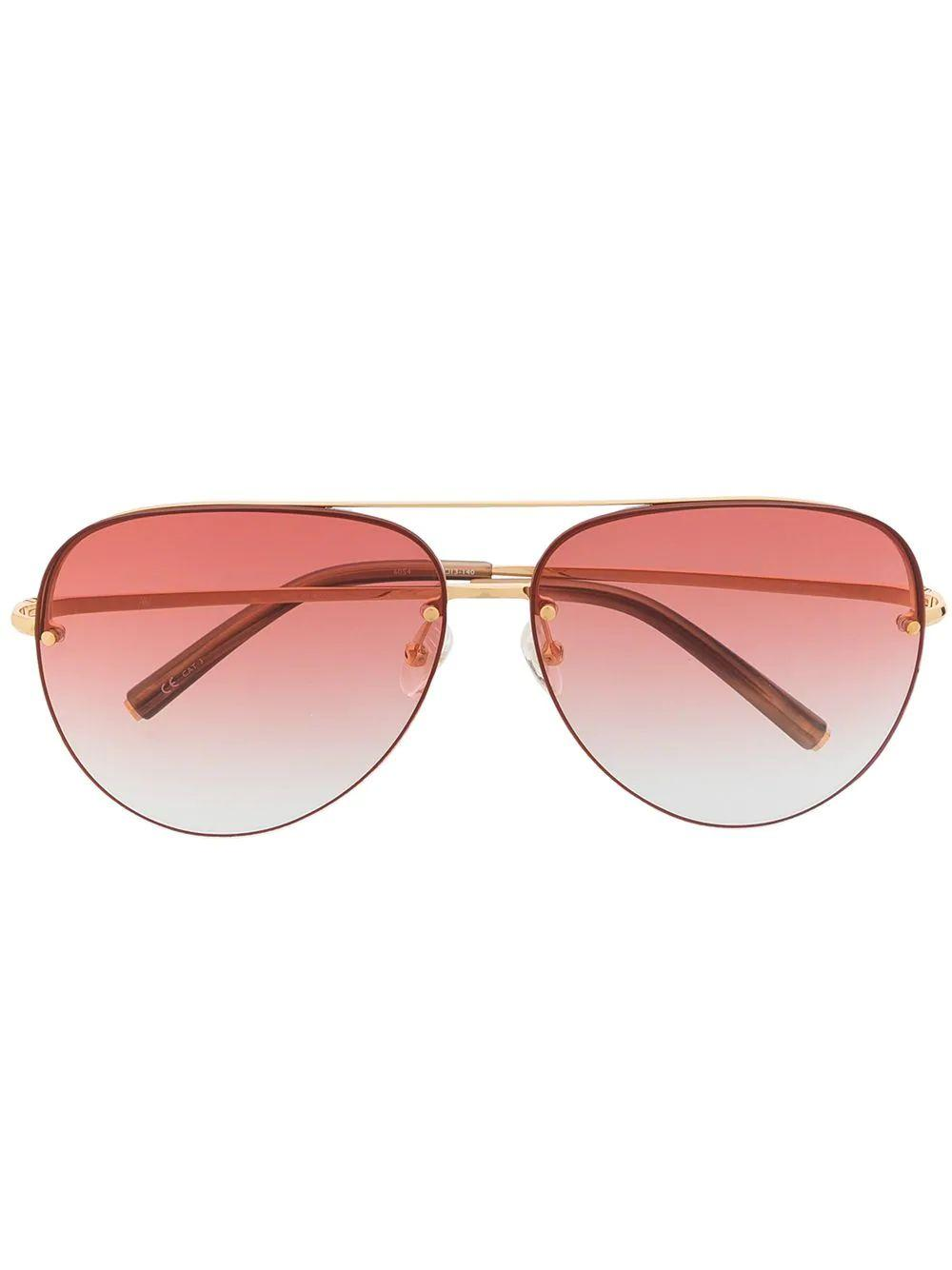 Clover Aviator Sunglasses Item # MW240C4SUN