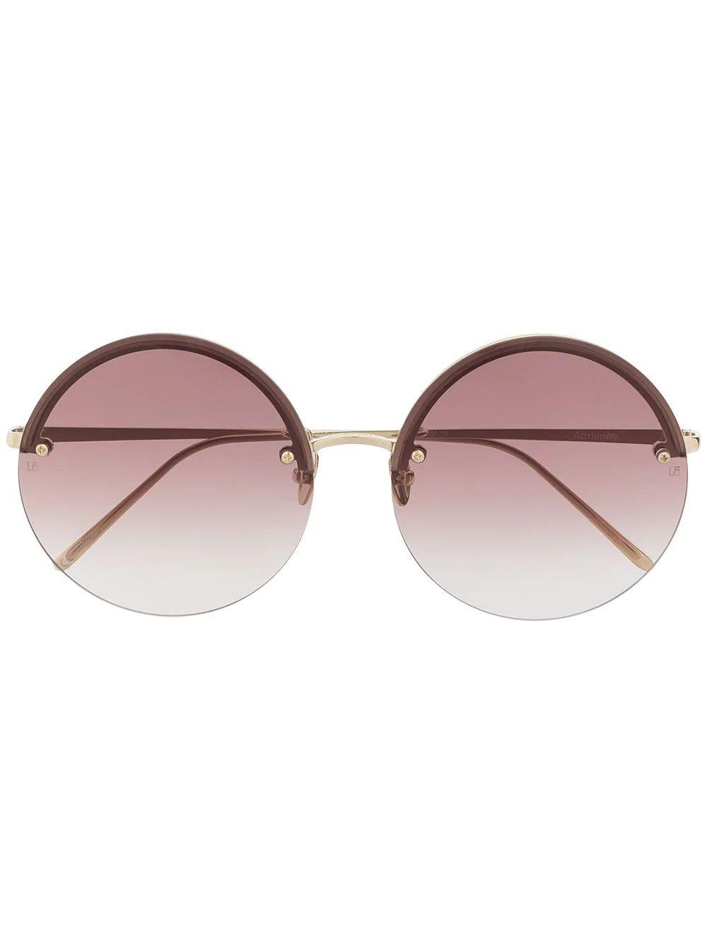 Adrienne Round Sunglasses Item # LFL1097C5SUN-C