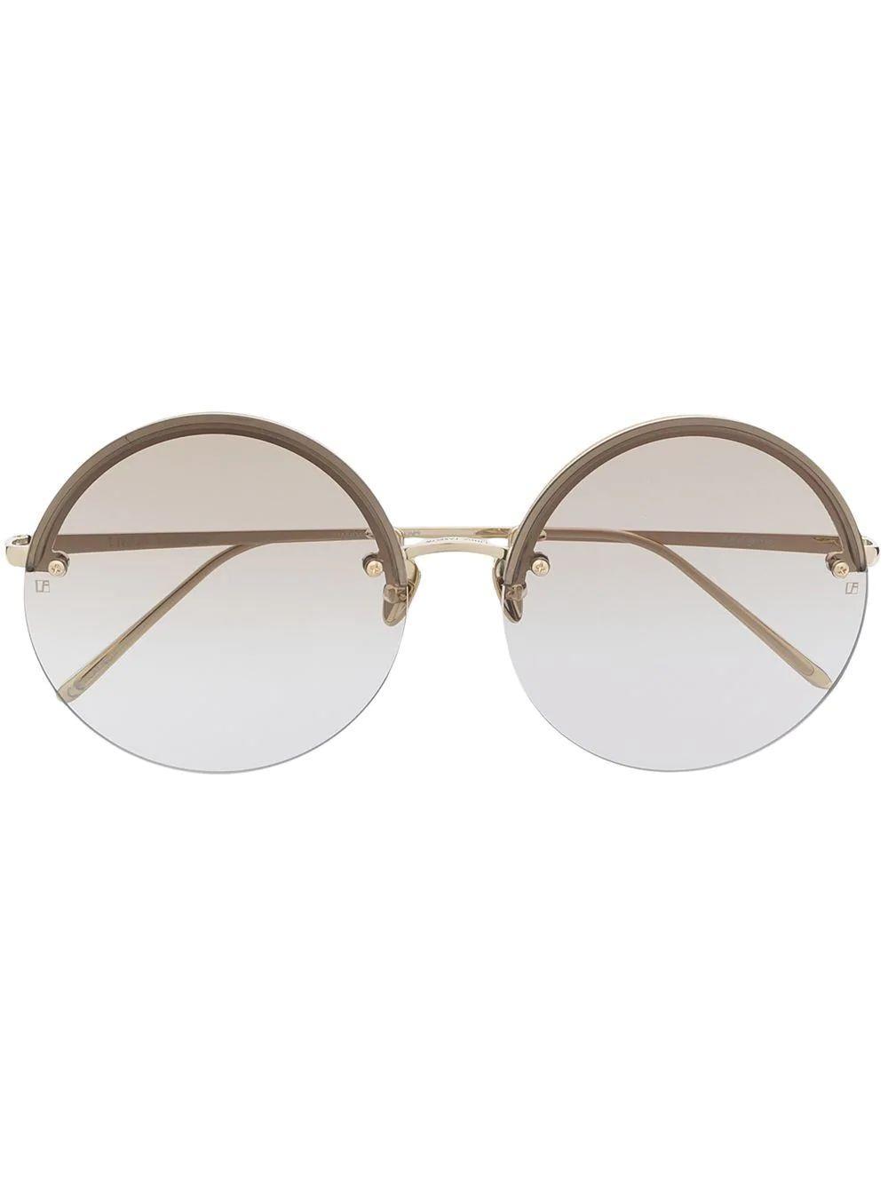 Adrienne Round Sunglasses Item # LFL1097C4SUN-C