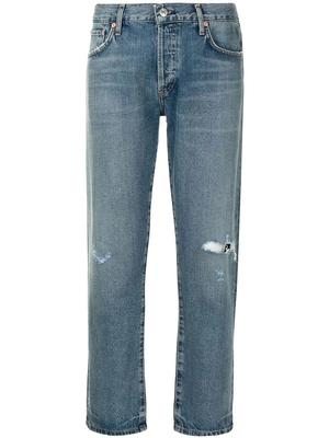 Emerson Distressed Cropped Jean