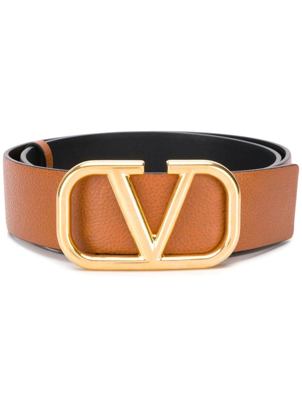 Gold Buckle Reversible Logo Belt Item # VW2T0S11ZHY