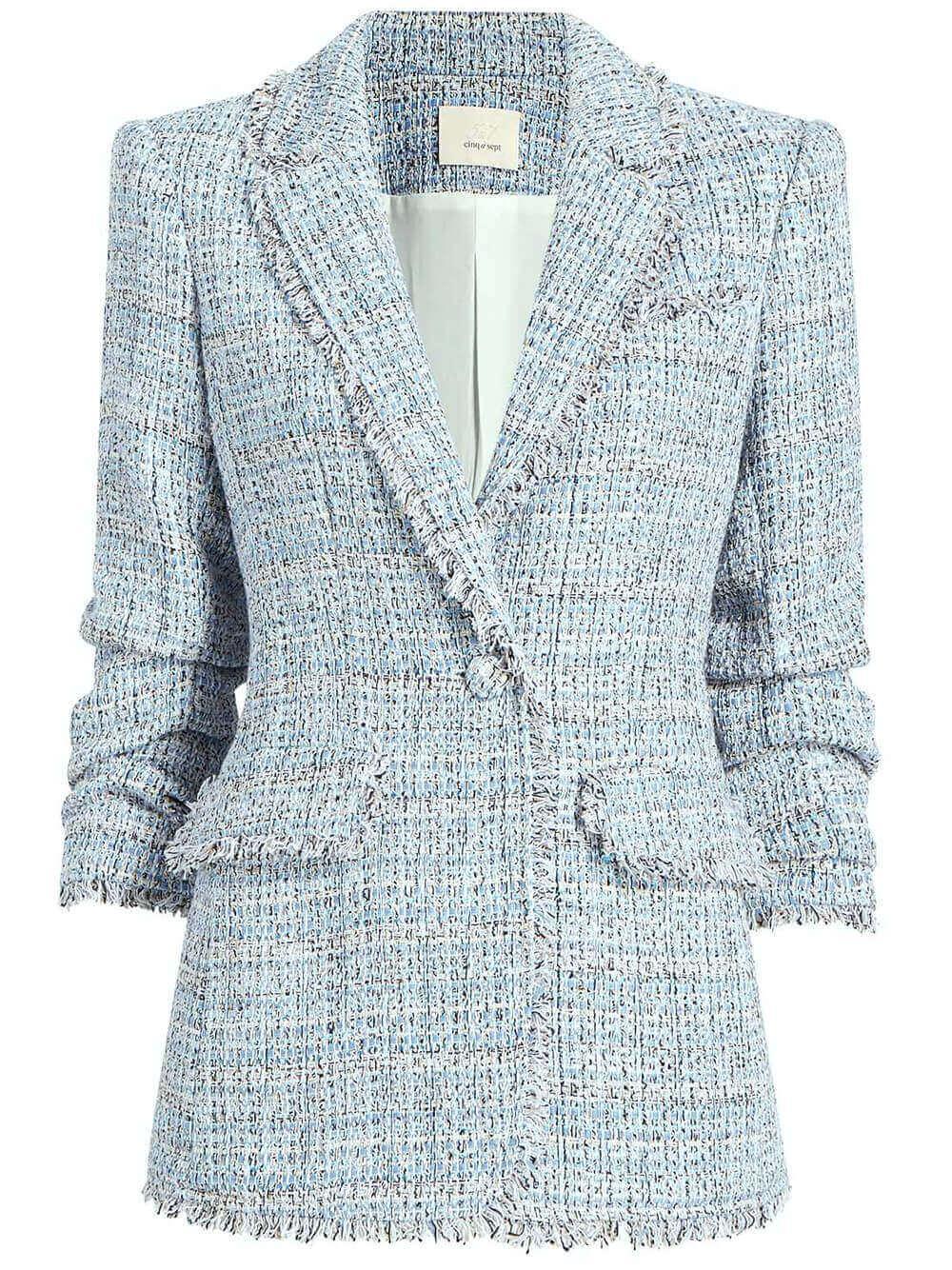 Khloe Tweed Blazer Item # ZJ3154353Z