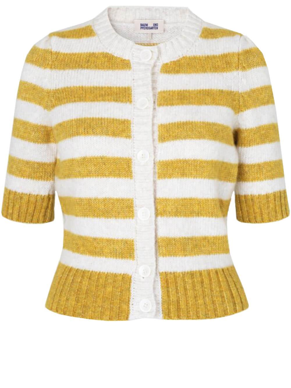 Cachay Striped Cardigan Item # 21668