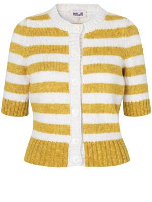 Cachay Striped Cardigan