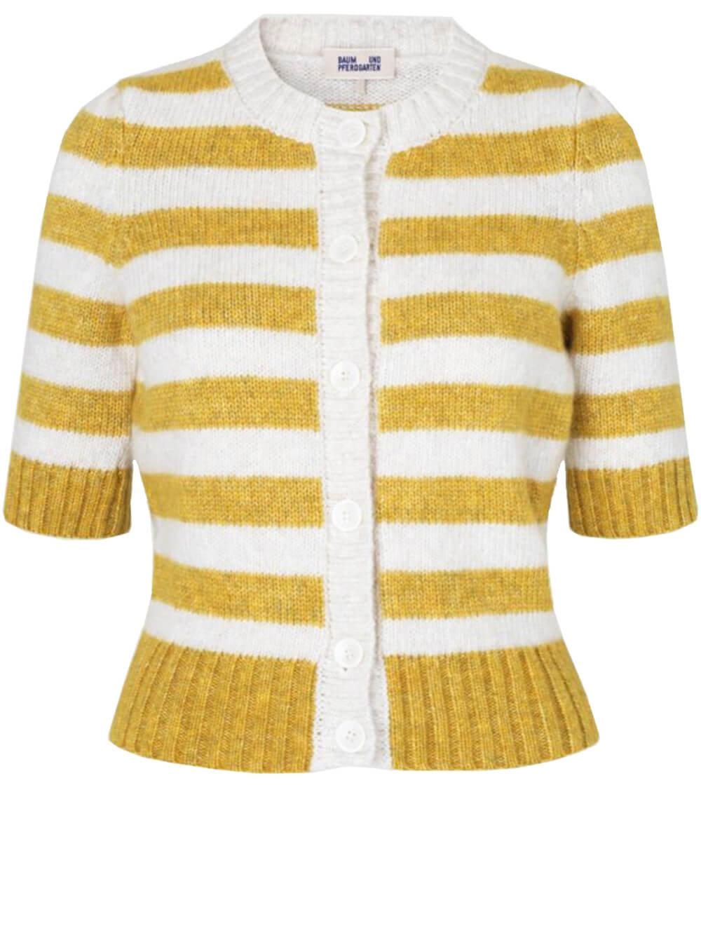 Cachay Striped Cardigan