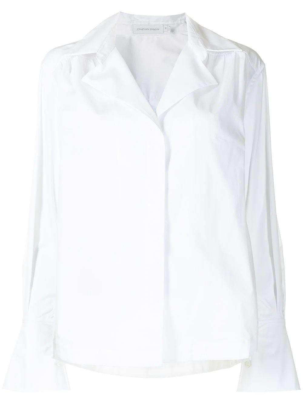 Evette Poplin Shirt Item # 221-2038-T