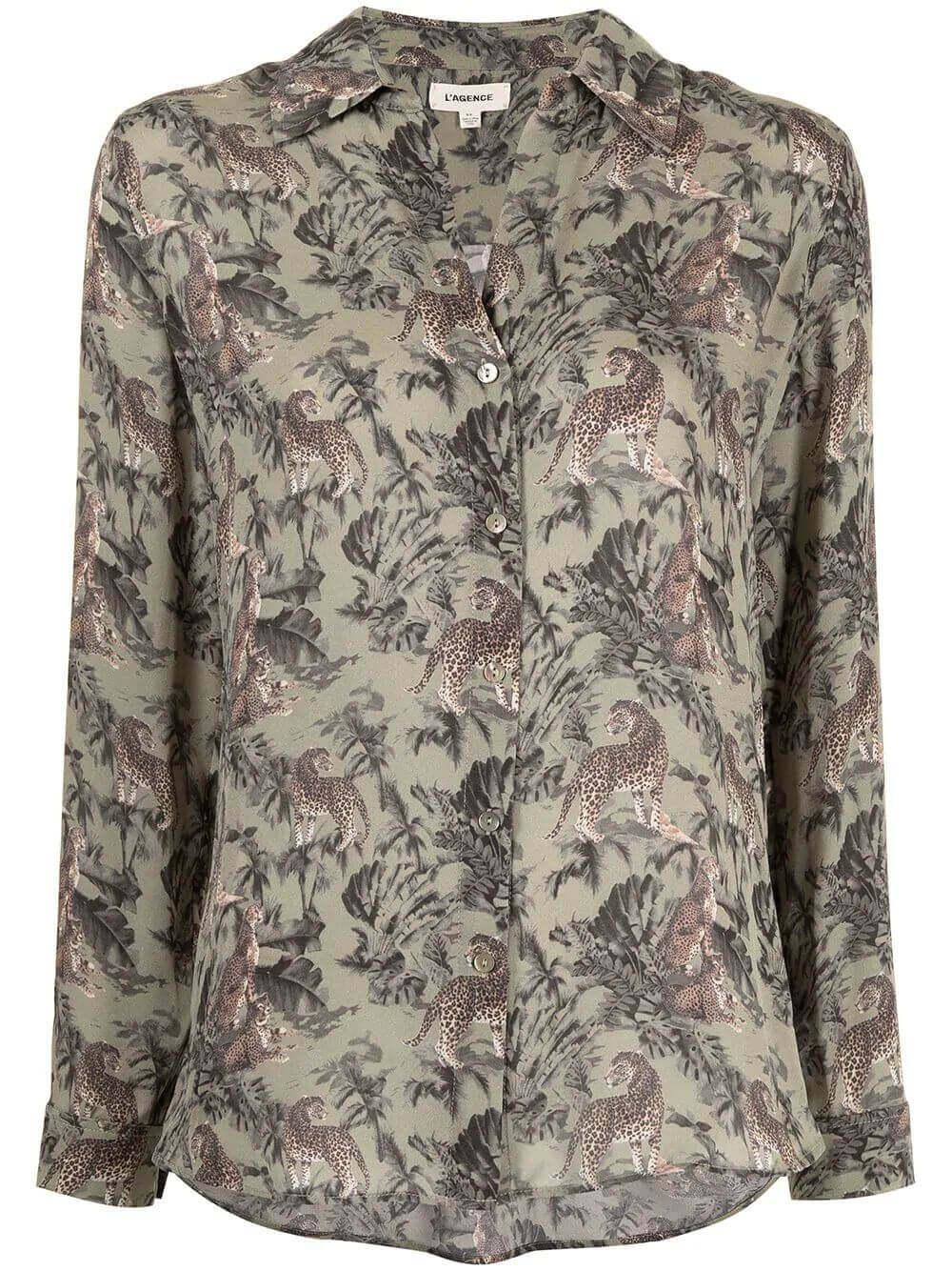 Nina Jungle Blouse