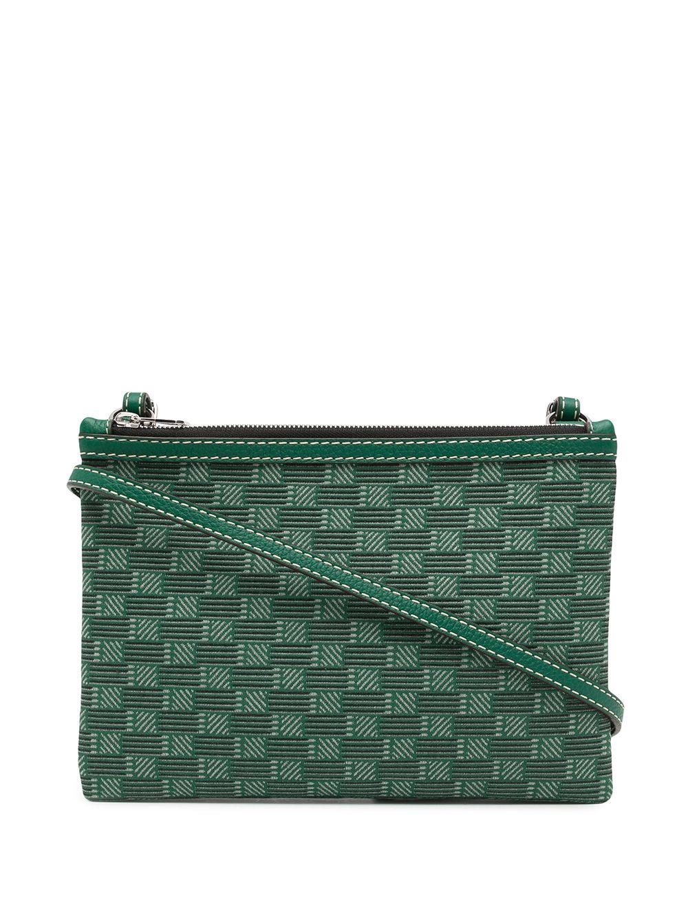 Celestin Coated Jacquard Crossbody