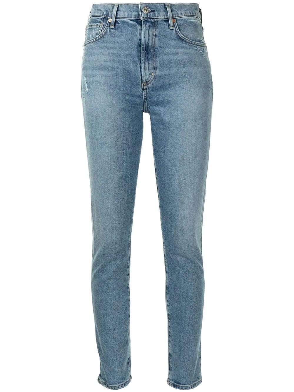 Olivia Slim Straight Leg Jean Item # 1926-1140