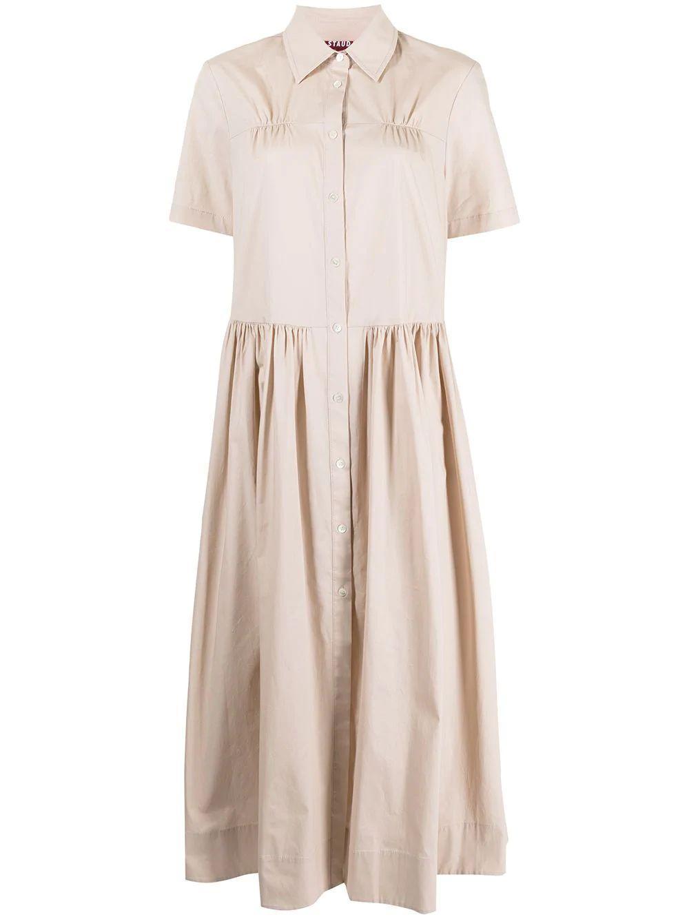 Guilia Maxi Shirt Dress
