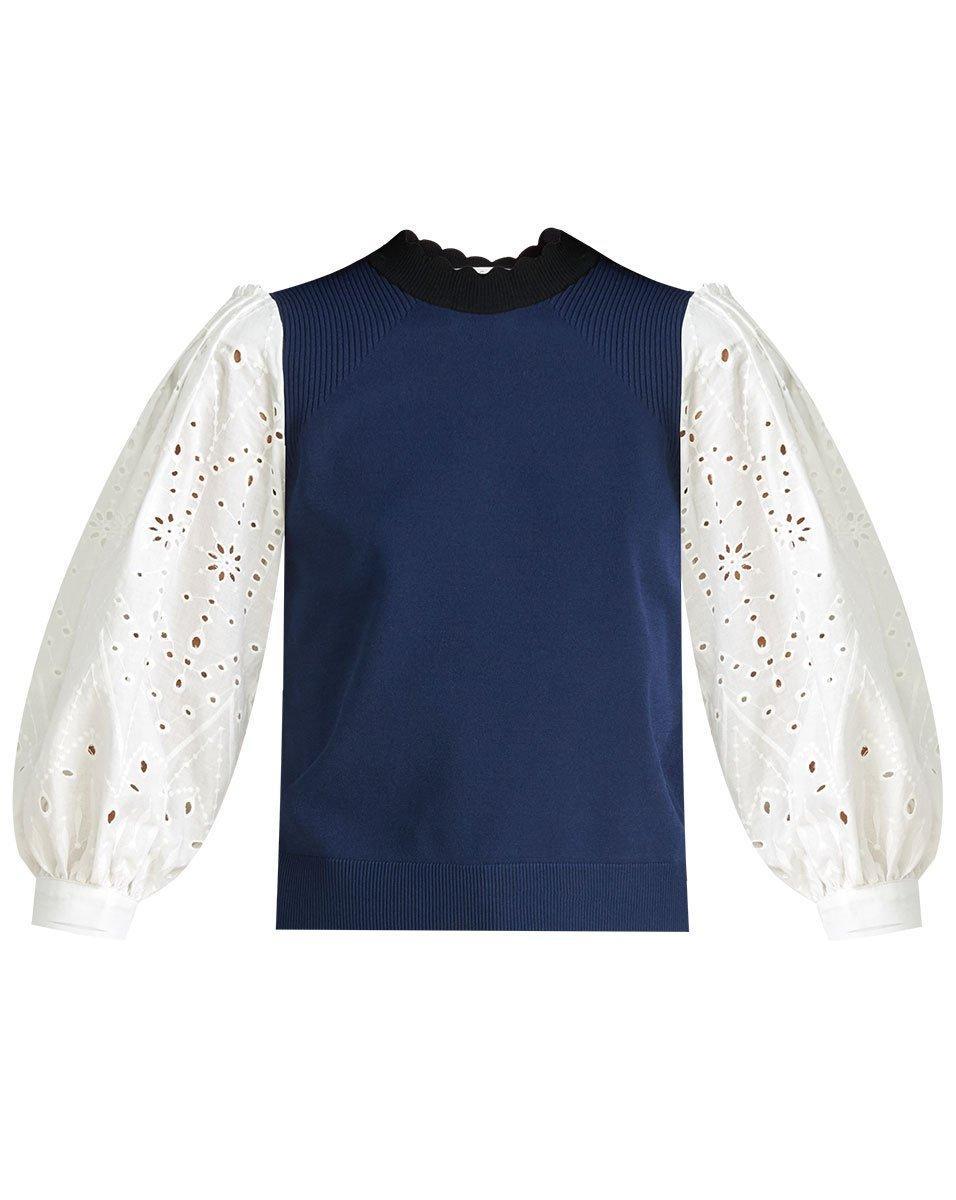 Roy Mixed Media Sweater Item # 2102KN4139564