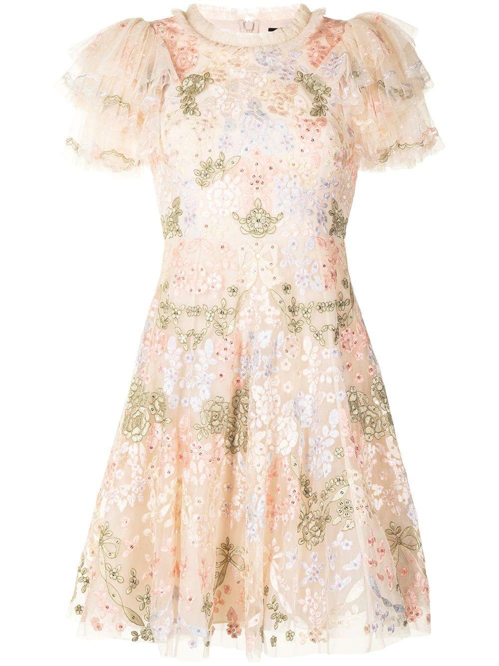 Elin Blossom Mini Dress