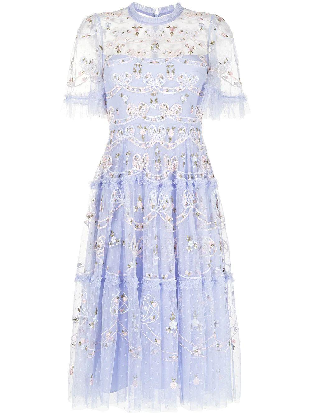 Ditsy Ribbon Dress