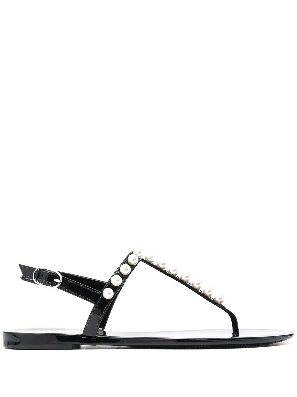 Goldie Jelly Thong Sandals