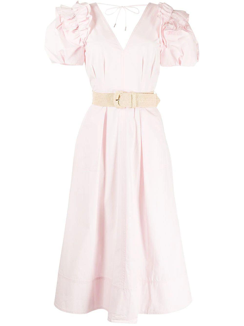 Fes Frill Midi Dress