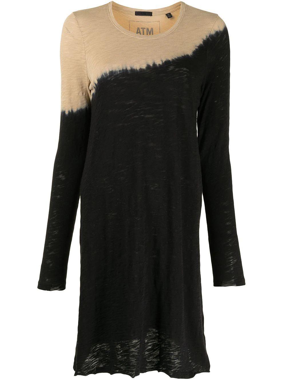 Dip Dye Cotton Dress Item # AW2294-FK40