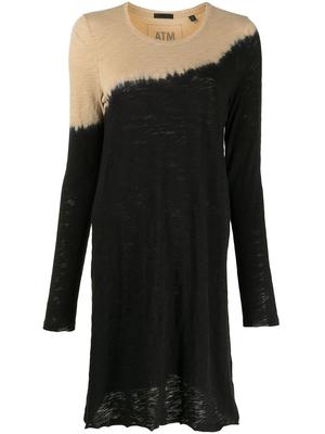 Dip Dye Cotton Dress