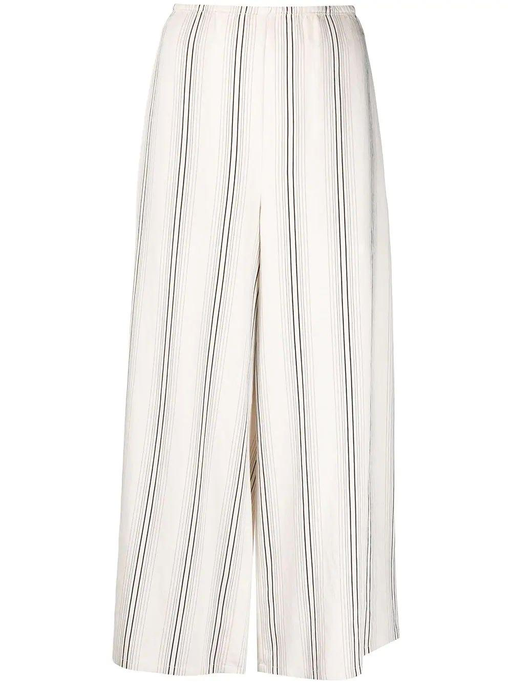 Drapey Stripe Culotte
