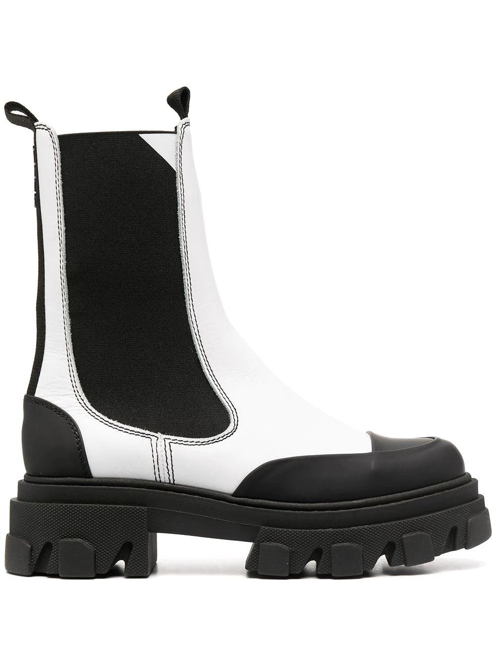 Mid- Calf Chelsea Boot Item # S1416