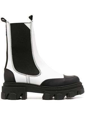 Mid-Calf Chelsea Boot