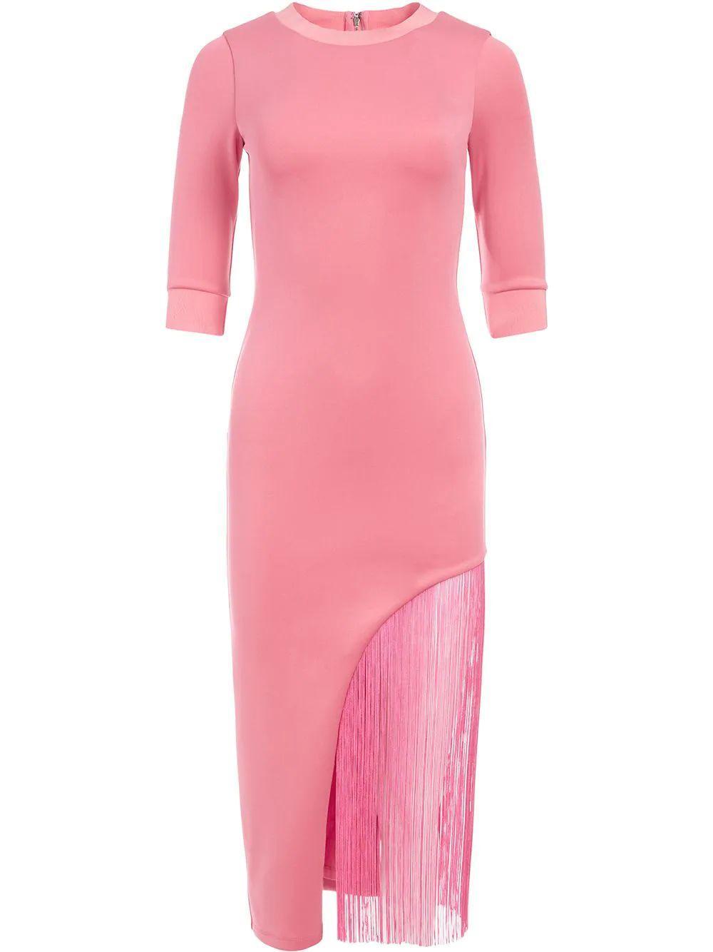 Keanna Fringe Dress Item # CC102W25526