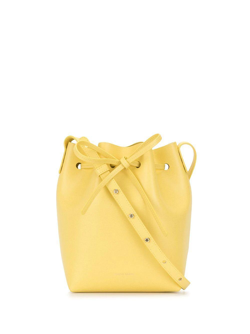 Mini Tie Bucket Bag Item # HMB004SA